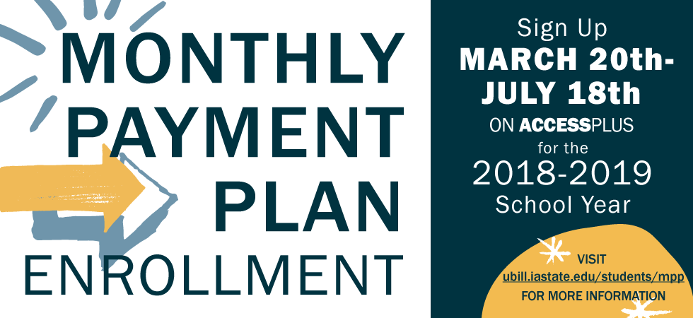 Monthly Payment Plan