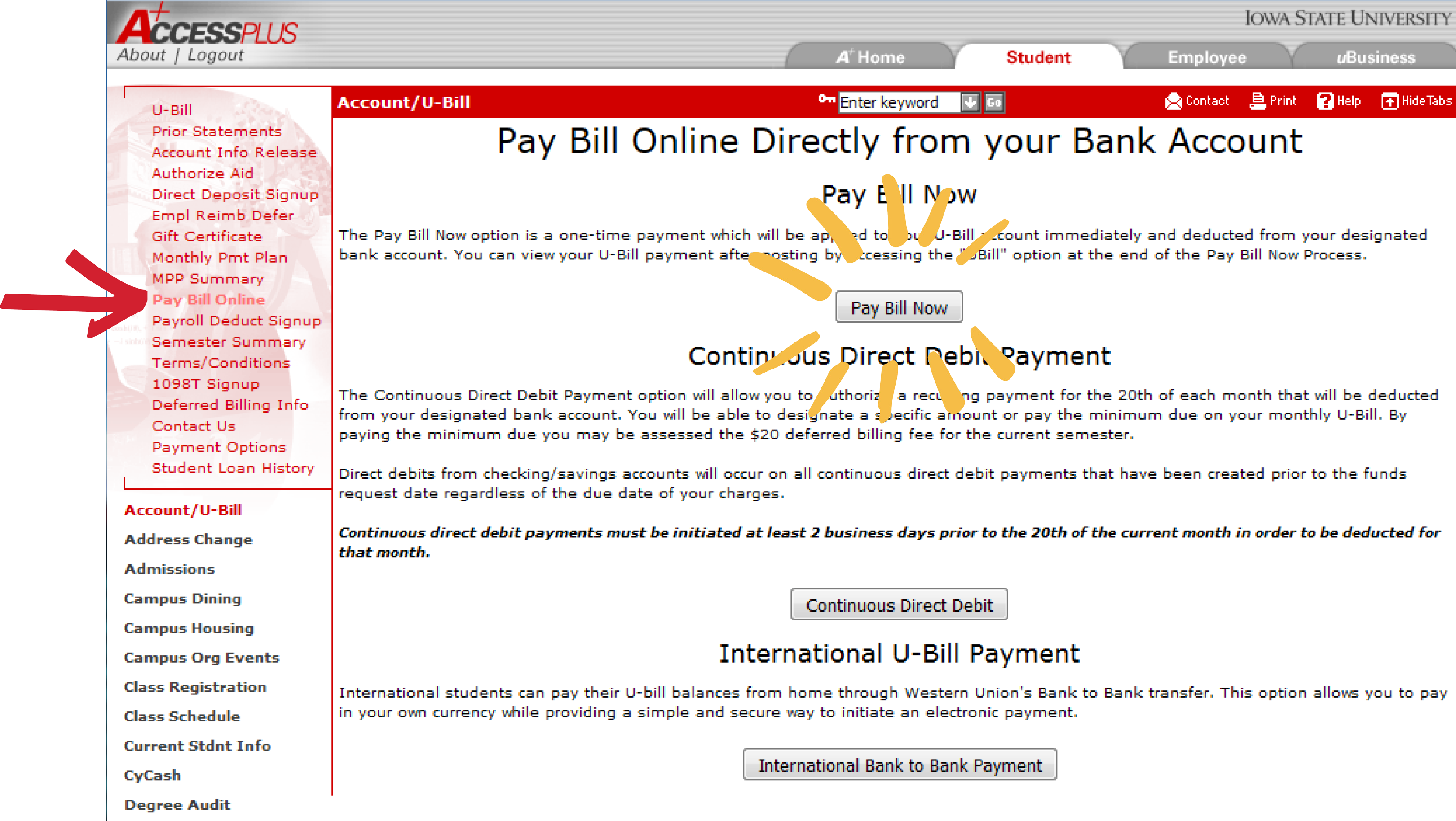 axis bank credit card bill payment through other bank account